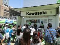 『2017 Kawasaki Motor Show in 西梅田スクエア』開催!!