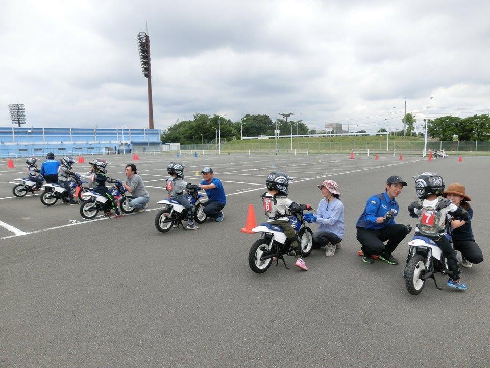 ヤマハ親子バイク教室 千葉県野田 2月22日20:00予約開始