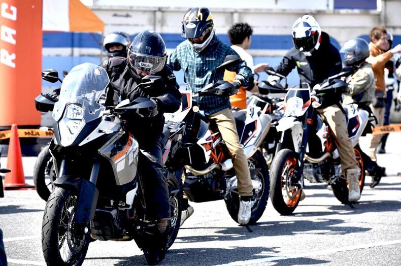 KTM オレンジキャラバン 2017 in お台場