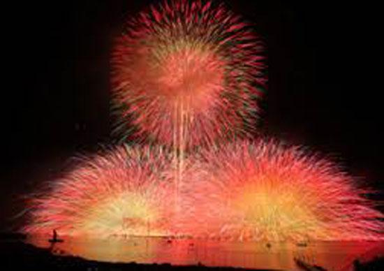 第69回諏訪湖祭湖上花火大会 in 長野