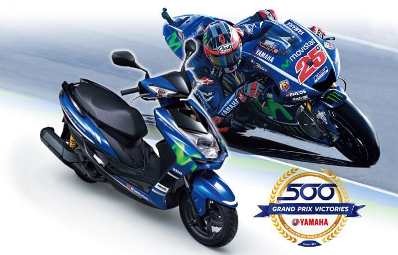 ヤマハ「シグナスX SR」Movistar Yamaha MotoGP Editionが2017年9月6日に数量限定で発売するぞ!!