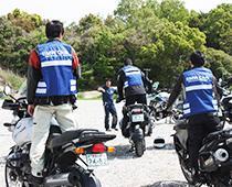 BMCJ Rider Training in 兵庫:国営明石海峡公園