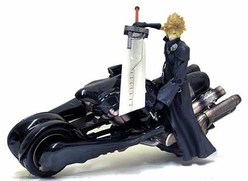 クラウドのバイクに乗りたい、、、