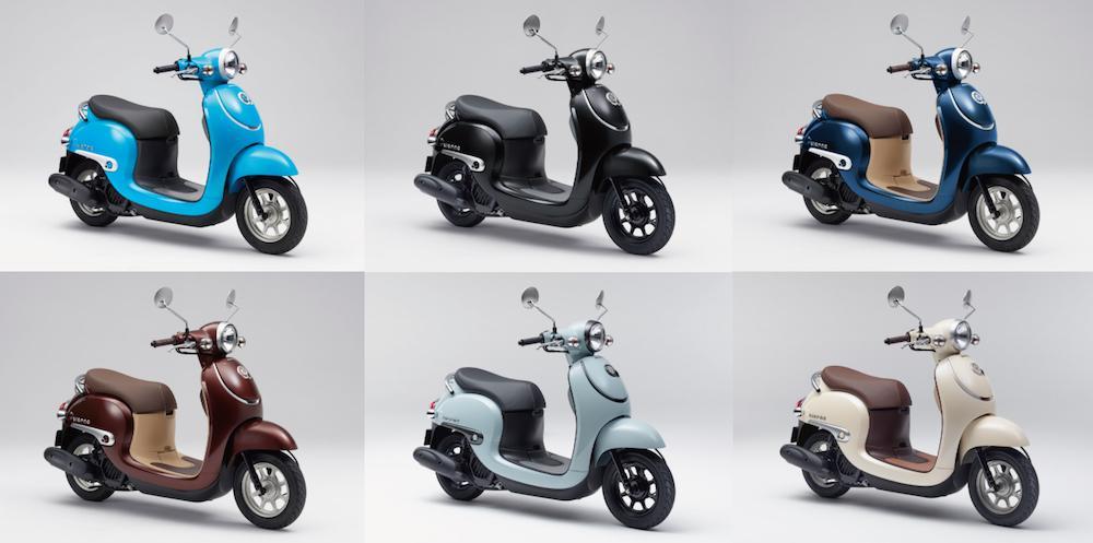 ホンダのスクーター・ジョルノが環境対応されて発売