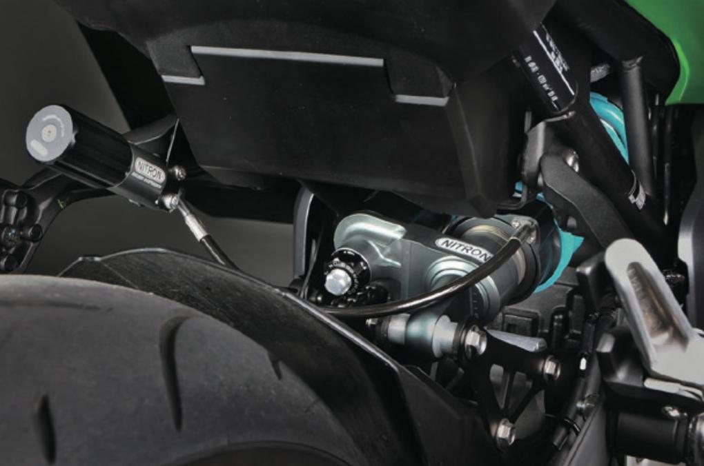 サスペンションメーカー「NITRON」からカワサキZ900用が登場