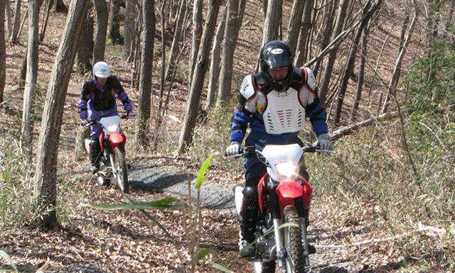Hondaモーターサイクリストスクール 林道トレッキング【チャレンジ】(ツインリンクもてぎ)