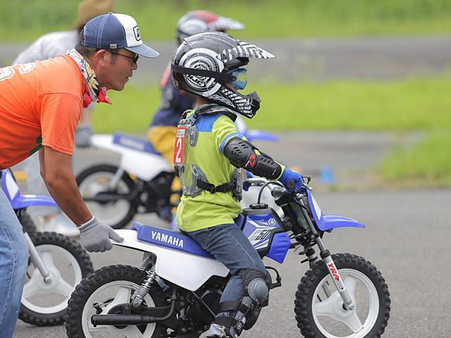 ヤマハ親子バイク教室 トライコース