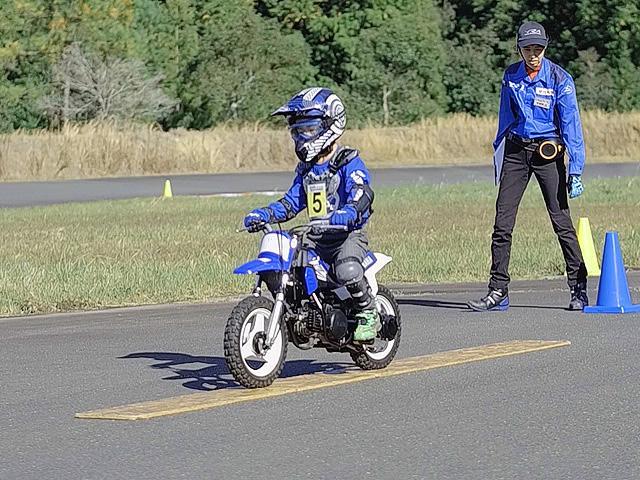 ヤマハ親子バイク教室 サーキットコース