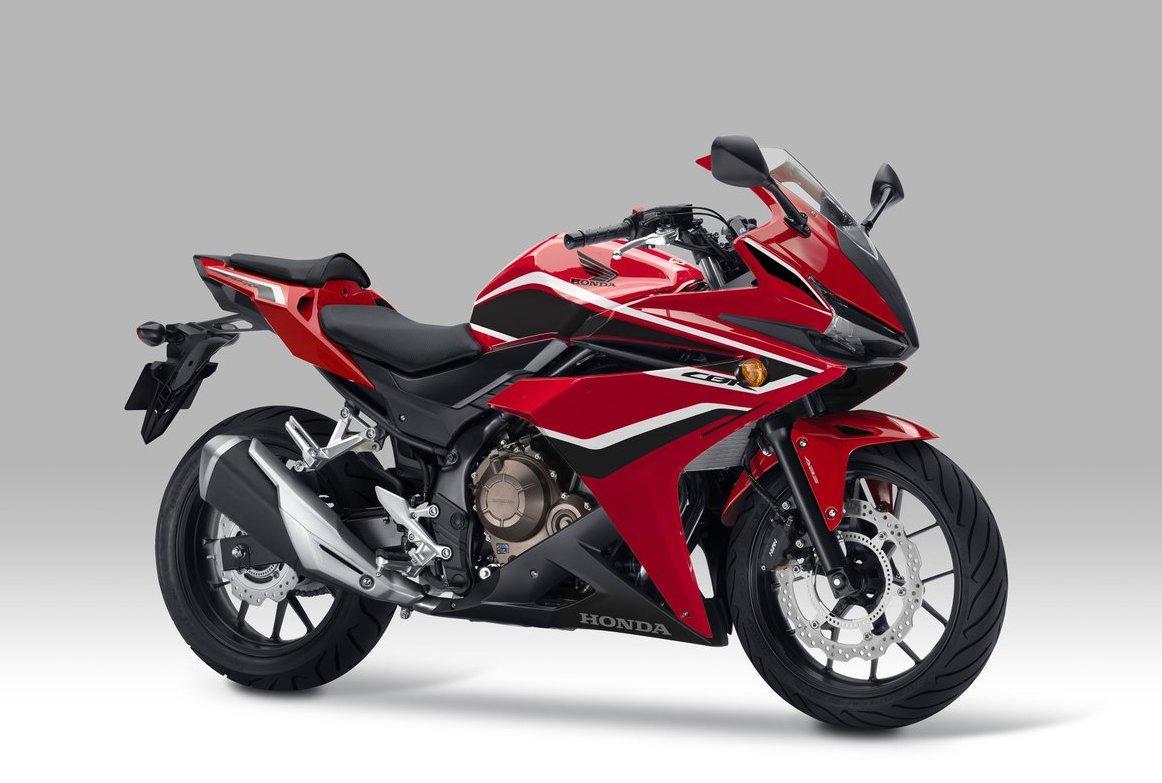 スポーツモデル「CBR400R」のカラー変更&ABSを標準装備して発売(^_−)