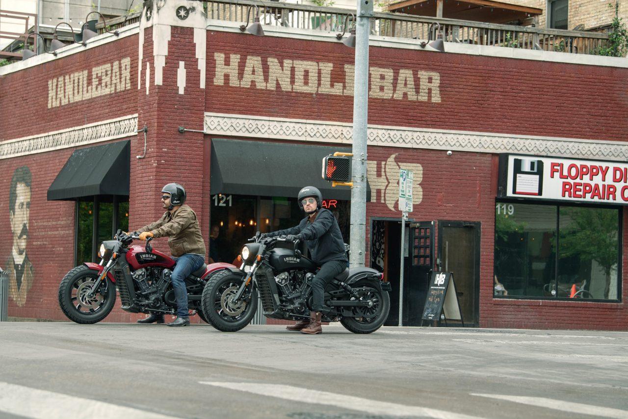 Vツインモーターサイクルでインディアン体験試乗会を開催!