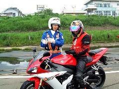 レディースオートバイ教室