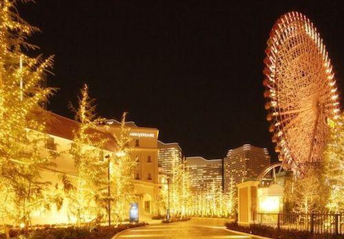 アニヴェルセル みなとみらい横浜 ANNIVERSAIRE SPECIAL ILLUMINATION