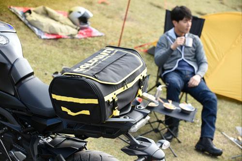 ゴールドウインモーターサイクルおすすめの『バイクキャンプツーリングスタイル』をPopUp展示!