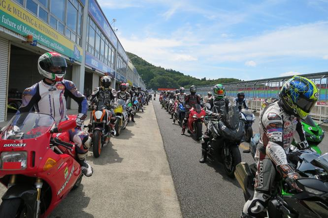 HYOD RIDE ON in岡山国際サーキット